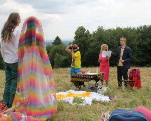 Afrikanische Hochzeit