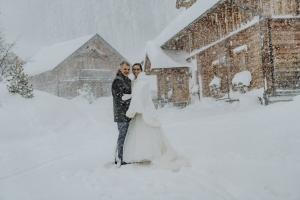 Winterhochzeit, Hochzeit