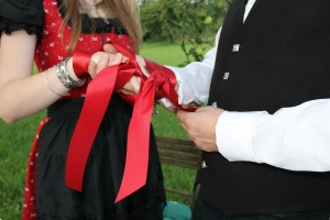 Handfasting Zeremonie