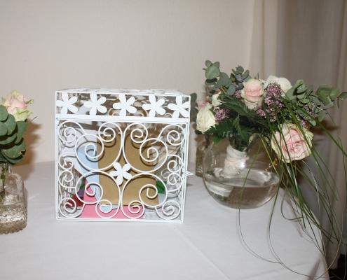 Dekoration für Hochzeit, Post-Box, Hochzeitsdeko