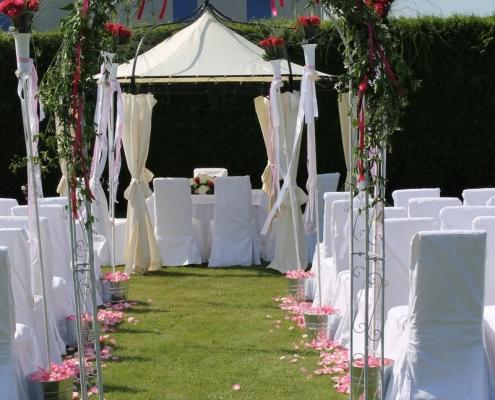 Hochzeitsdekoration, Dekoration für Hochzeit