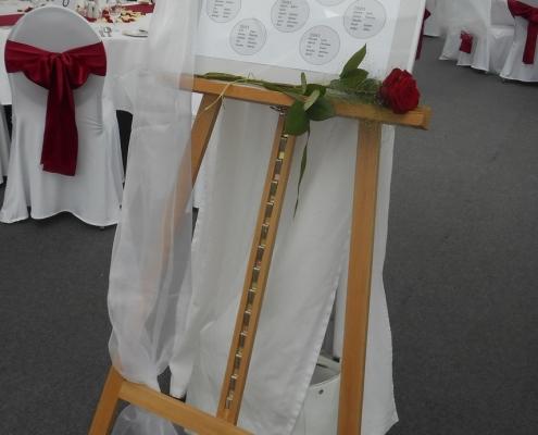 Staffelei für Hochzeit, Hochzeitsdekoration
